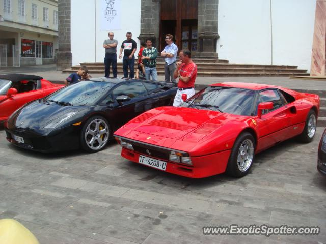 Ferrari 288 GTO spotted in Tenerife, Spain