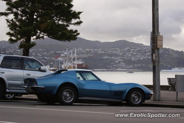 Chevrolet Corvette Z51 spotted in Wellington, New Zealand