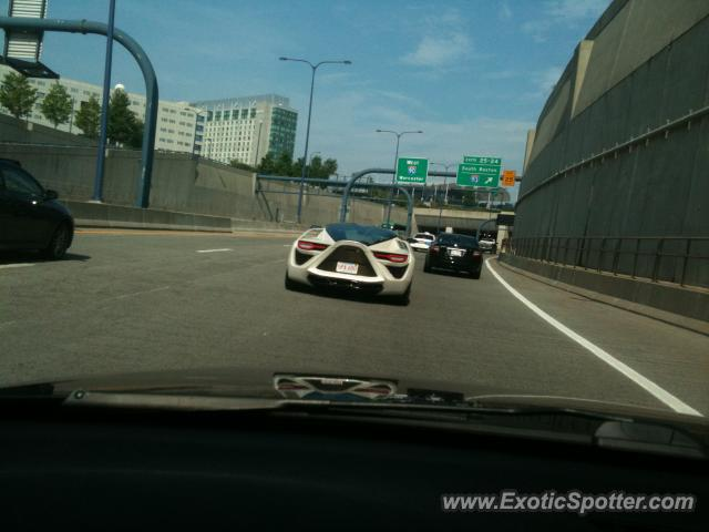 Bertone Mantide spotted in Boston, Massachusetts