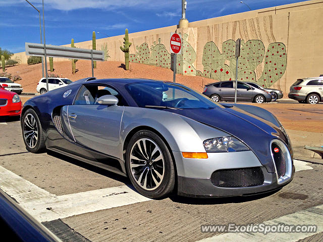 Bugatti Veyron spotted in Scottsdale, Arizona