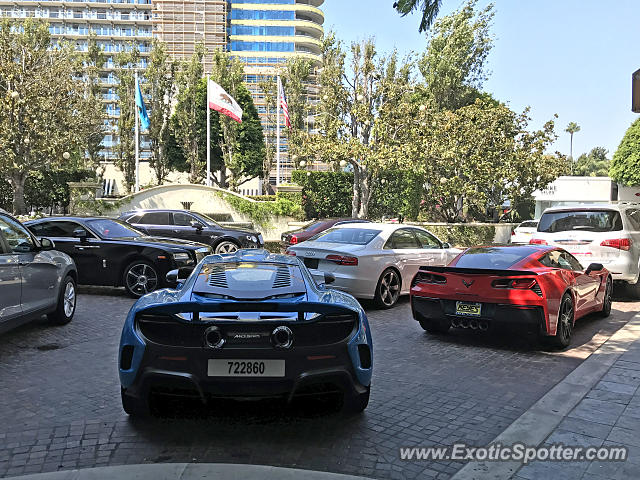 Mclaren 675LT spotted in Beverly Hills, California