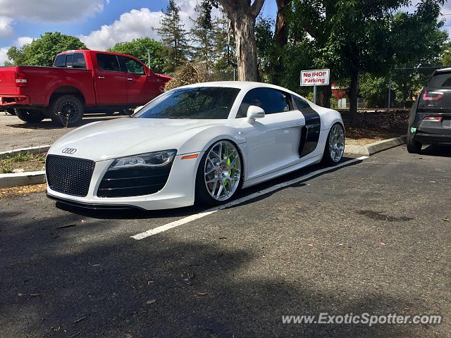 Audi R8 spotted in San Jose, California