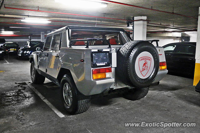 Lamborghini LM002 spotted in London, United Kingdom