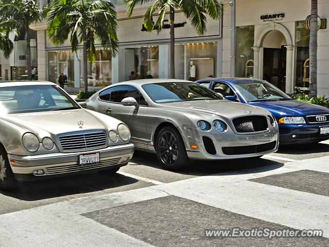 bentley continental spotted in beverly hills california on 04 12 2013. Cars Review. Best American Auto & Cars Review