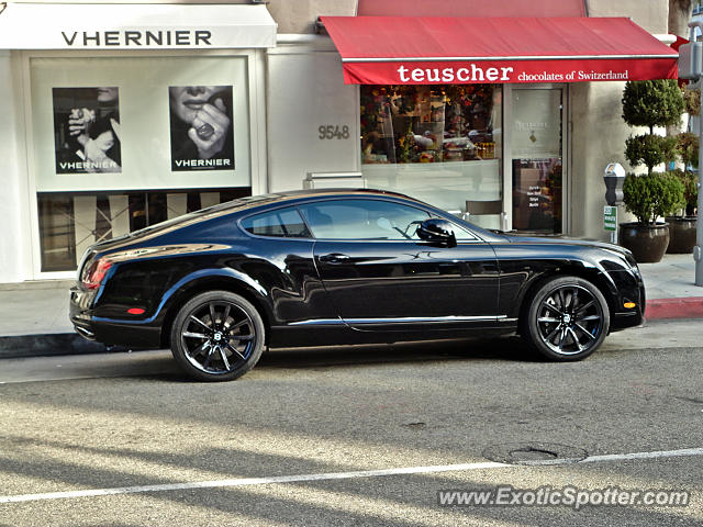 bentley continental spotted in beverly hills california. Cars Review. Best American Auto & Cars Review