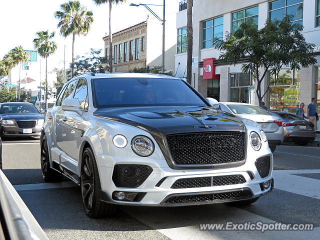 bentley bentayga spotted in beverly hills california on 04 01 2017. Cars Review. Best American Auto & Cars Review