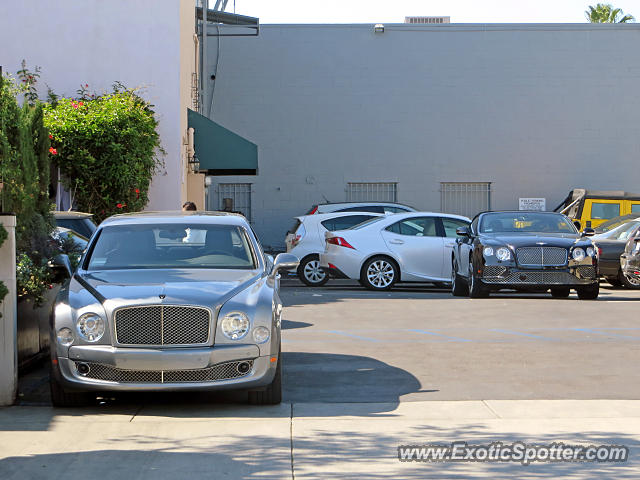 bentley mulsanne spotted in beverly hills california on. Cars Review. Best American Auto & Cars Review