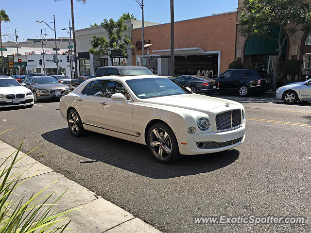Bentley Mulsanne spotted in Beverly Hills, California