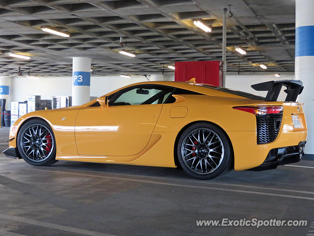 Lexus LFA spotted in Los Angeles, California