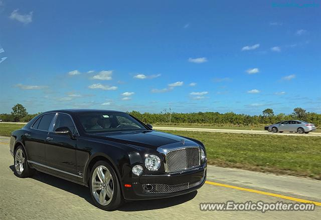 Bentley Mulsanne spotted in Hobe Sound, Florida