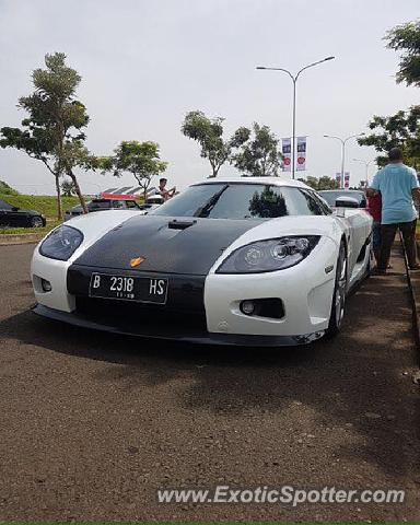 Koenigsegg CCX spotted in Serpong, Indonesia