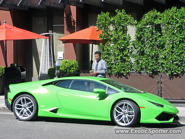 lamborghini huracan spotted in beverly hills california on 04 20 2017 photo 2. Black Bedroom Furniture Sets. Home Design Ideas