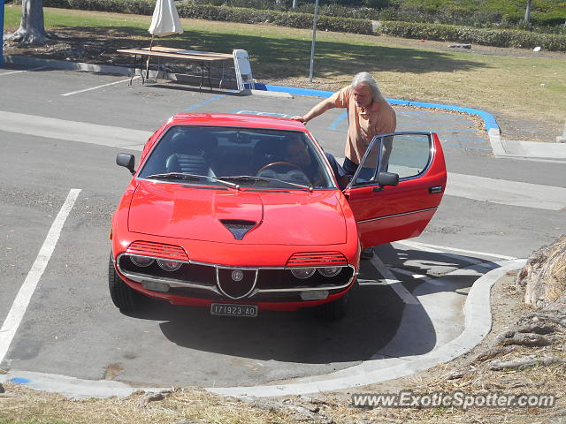 Alfa Romeo Montreal spotted in San Diego, California