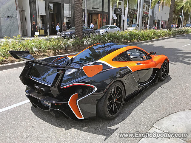 Mclaren P1 spotted in Beverly Hills, California