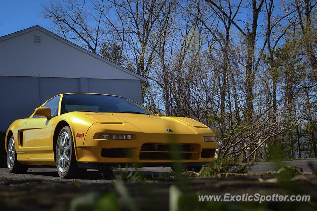 Acura NSX spotted in Webster, New York