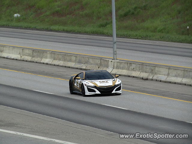 Acura NSX spotted in CdA, Idaho