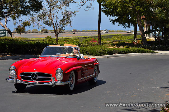 Mercedes 300sl spotted in newport beach california on 04 for Mercedes benz newport beach ca