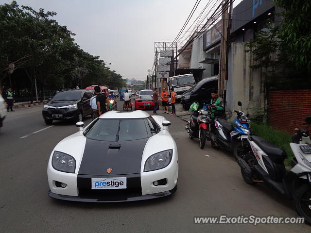 Koenigsegg CCX spotted in Jakarta, Indonesia