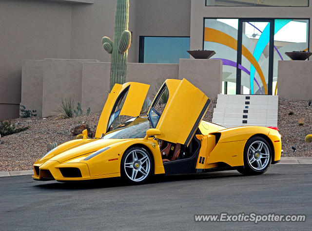 Ferrari Enzo spotted in Fountain Hills, Arizona