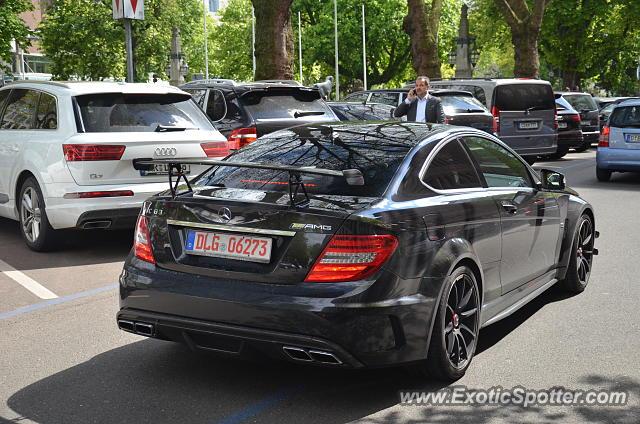 Mercedes C63 Amg Black Series Spotted In Düsseldorf Germany