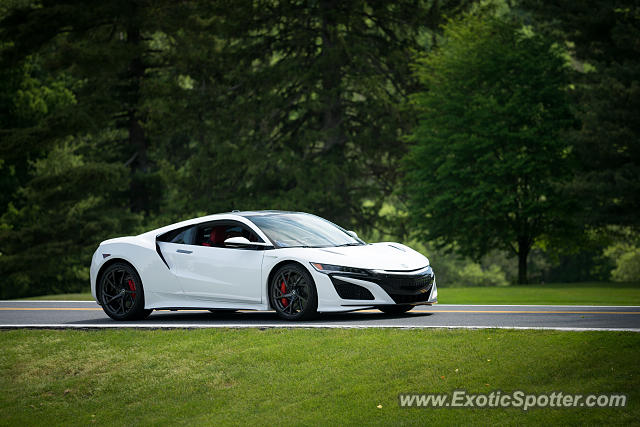 Acura NSX spotted in Reading, Pennsylvania