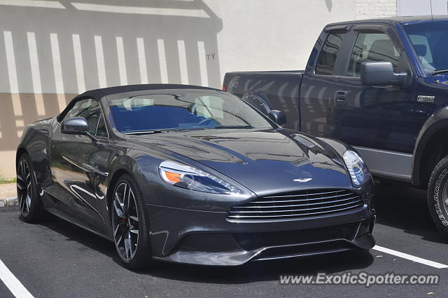 Aston Martin Vanquish Spotted In Summit New Jersey On 05 26 2017