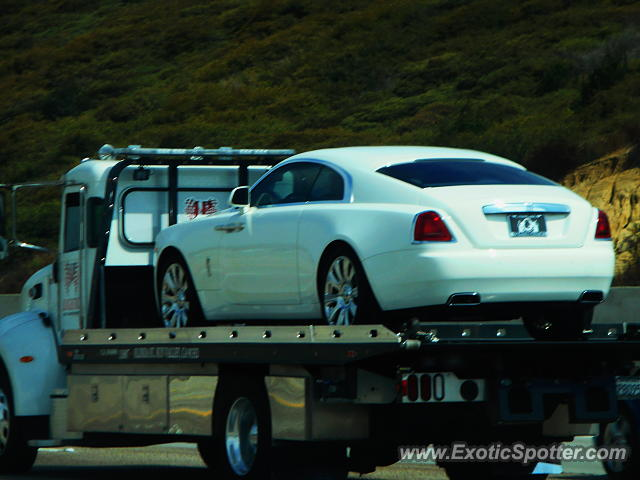 Rolls-Royce Wraith spotted in Carlsbad, California