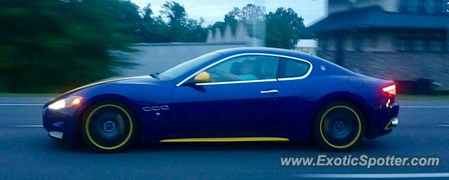 Maserati GranTurismo spotted in Stevensville, Maryland