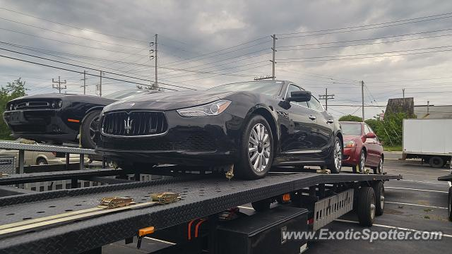 Maserati Ghibli spotted in Brick, New Jersey