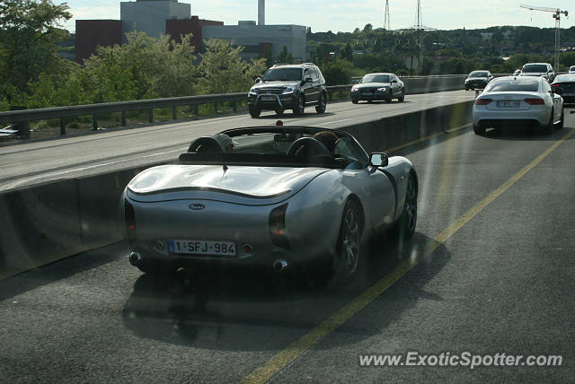 TVR Tuscan spotted in Luik, Belgium