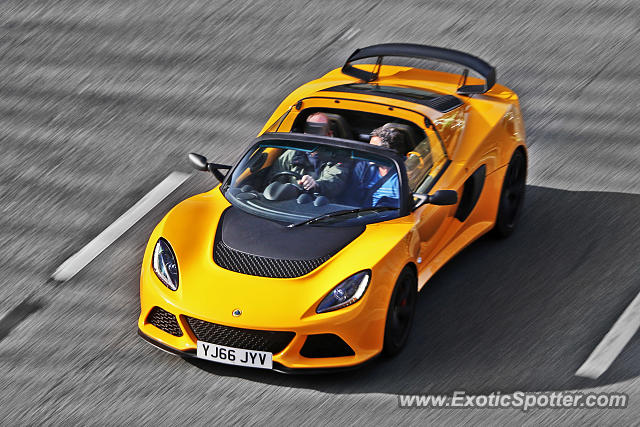 Lotus Exige spotted in Bramham, United Kingdom