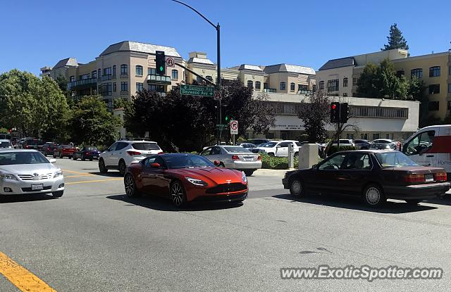 Aston Martin DB11 spotted in San Mateo, California