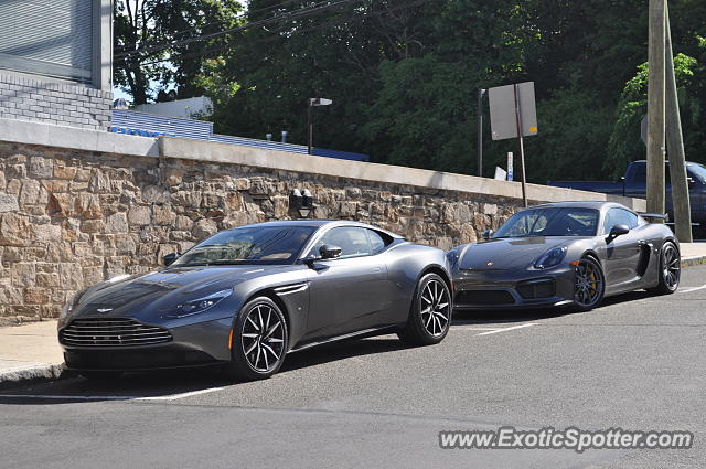 Aston Martin DB11 spotted in Greenwich, Connecticut
