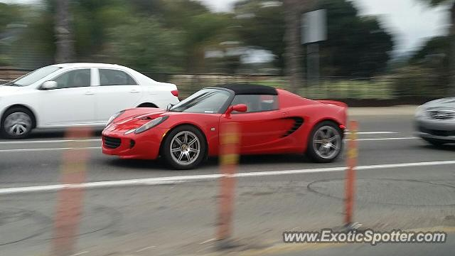 Lotus Elise spotted in San Diego, California