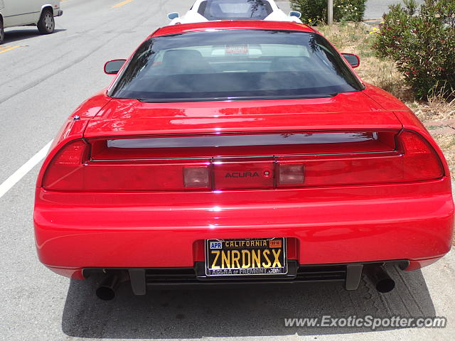 Acura NSX spotted in Woodside, California
