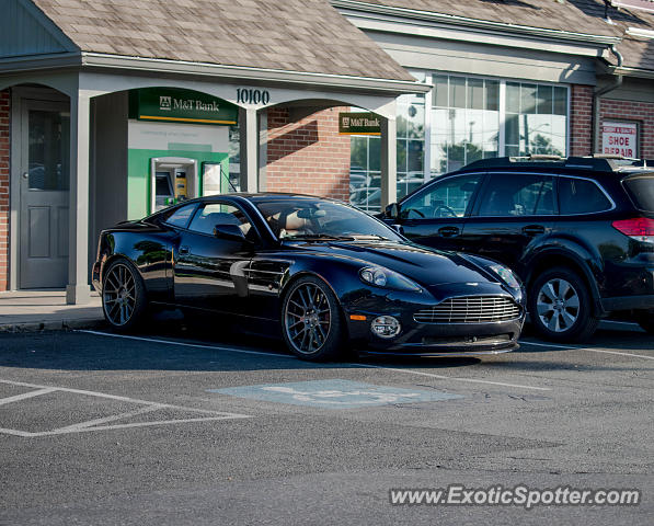 Aston Martin Vanquish spotted in Potomac, Maryland