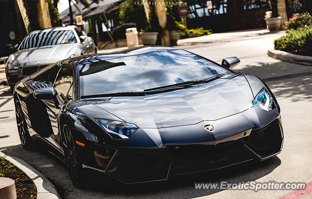 Lamborghini Aventador Spotted In San Antonio, Texas