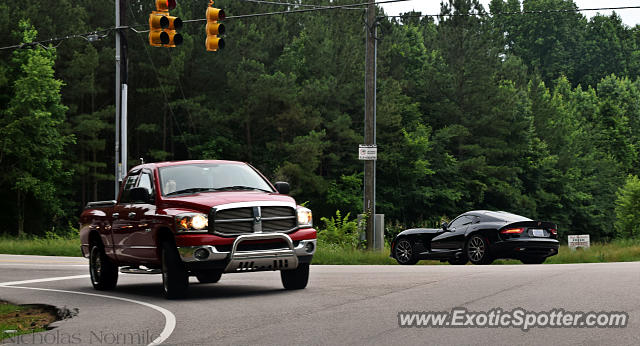 Dodge Viper spotted in Cary, North Carolina