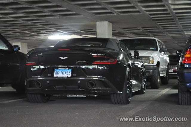 Aston Martin Vanquish spotted in Greenwich, Connecticut
