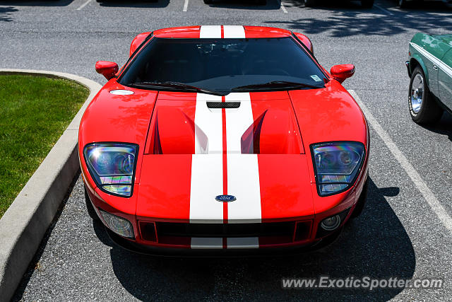 Ford GT spotted in Hershey, Pennsylvania