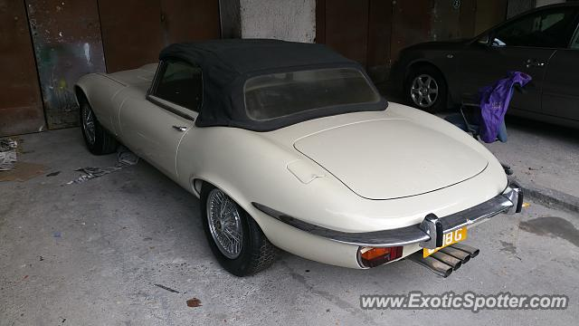 Jaguar E Type Spotted In Singapore, Singapore