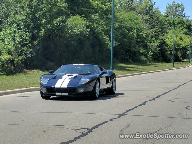 Ford GT spotted in Gahanna, Ohio