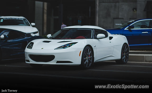 Lotus Evora spotted in Cherry Creek, Colorado