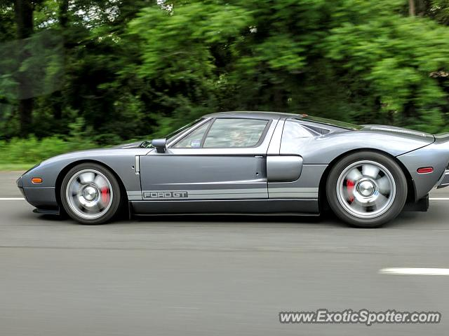 Ford GT spotted in Martinsville, New Jersey