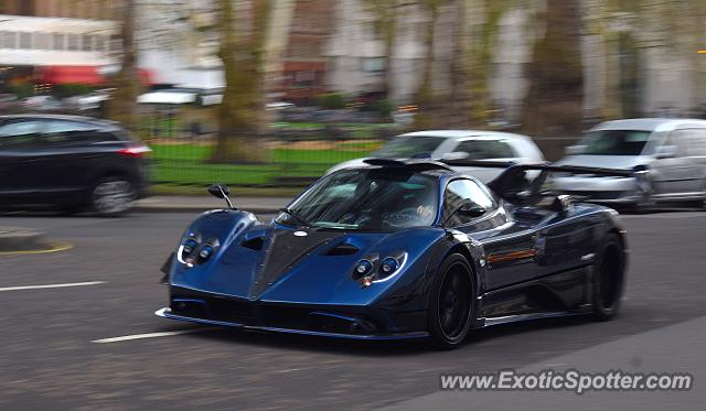 Pagani Zonda spotted in London, United Kingdom