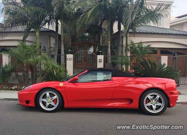 Ferrari 360 Modena spotted in San Diego, United States