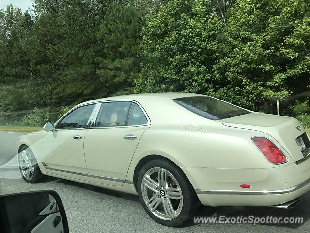 Bentley Mulsanne spotted in Hilton Head, South Carolina