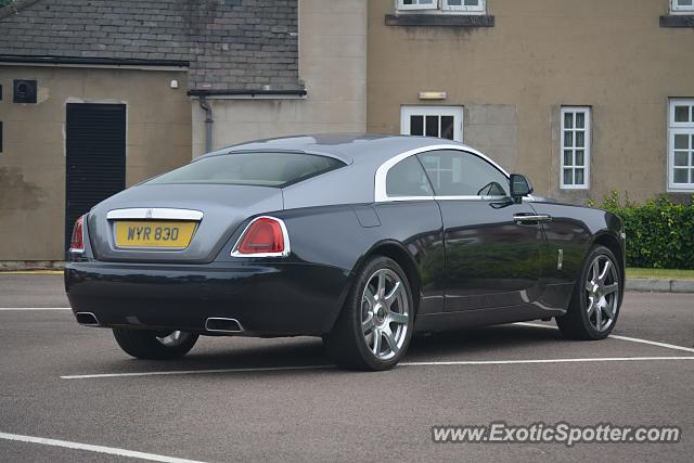 Rolls-Royce Wraith spotted in Bawtry, United Kingdom