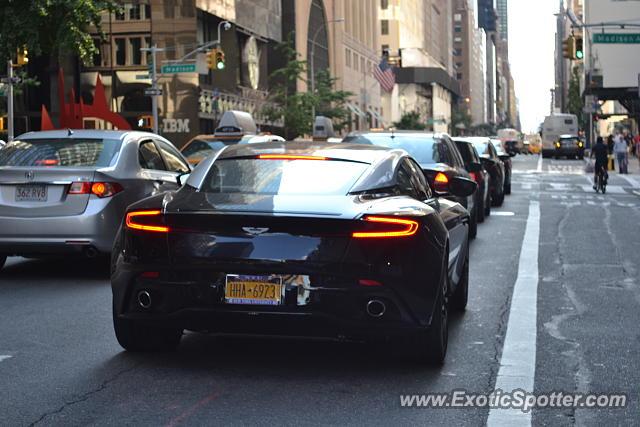 Aston Martin Db11 Spotted In Manhattan New York On 07 09 2017