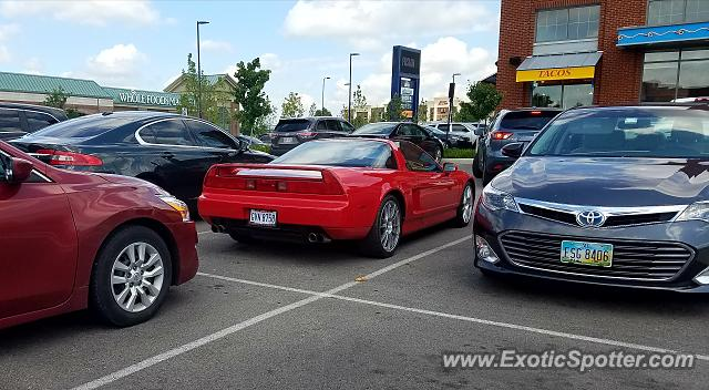 Acura NSX spotted in Columbus, Ohio